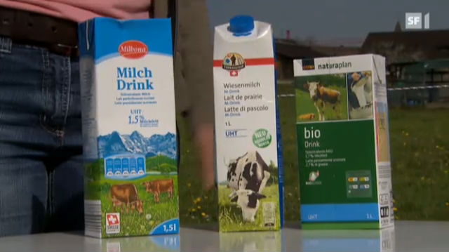 Der Etiketten-Schwindel bei der Milch