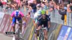 Video «Giro d'Italia: Die 16. Etappe von Valloire (Fr) nach Ivrea» abspielen