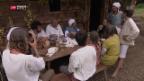 Video «Pilger machen Zwischenhalt bei Familie Dietschi» abspielen