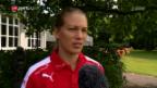 Video «Dickenmann blickt auf die kapitale Partie gegen Frankreich» abspielen