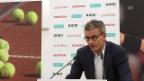 Video «Matthias Remund (BASPO): «Der Bund unterstützt Tennis nachhaltig»» abspielen