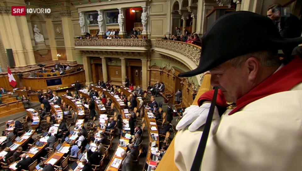 Parlamentarier-Rücktritte als Strategie