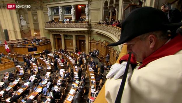 Video «Parlamentarier-Rücktritte als Strategie» abspielen