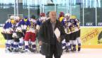 Video «Rollenwechsel: Hans-Rudolf Merz als Eishockey-Coach» abspielen