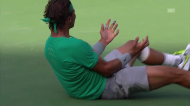 Video «Tennis: Nadal siegt in Indian Wells» abspielen