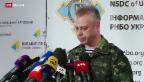 Video «Ukraine meldet russischen Beschuss» abspielen