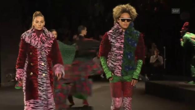 Video «Die aufwändige Show von «Kenzo x H&M»» abspielen