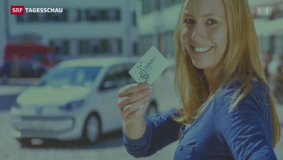Mobility lanciert neues Projekt «catch a car»