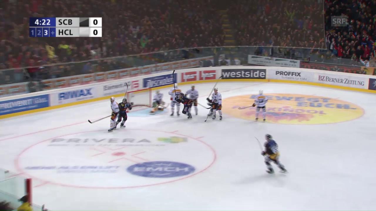 Das goldene Tor von Rüfenacht im 2. Finalspiel gegen Lugano