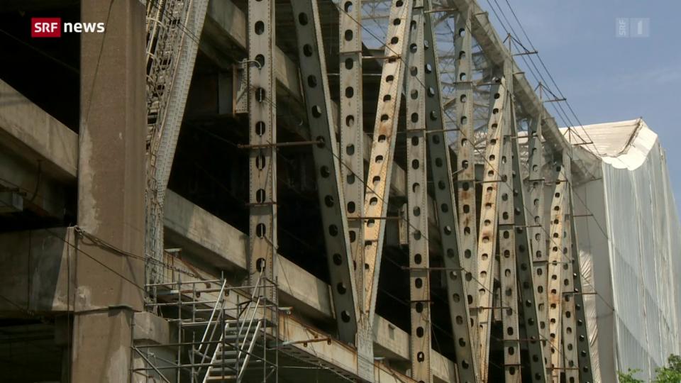 Aus dem Archiv: Milliarden-Infrastrukturpaket nimmt erste Hürde