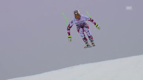 Video «Ski alpin: Weltcup, Abfahrt Garmisch-Partenkirchen, Hannes Reichelt» abspielen