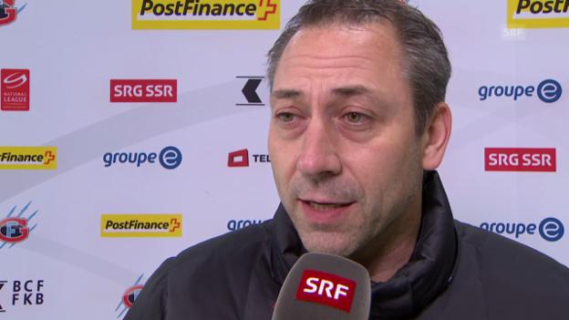 Video «Eishockey: Interview mit Klotens Sportdirektor Rötheli» abspielen