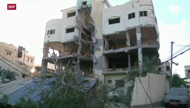 Video «Israel bombardiert weiter Gaza» abspielen