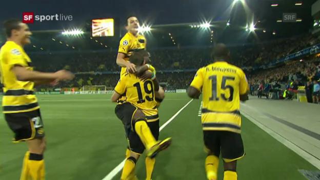 Video «CL-Playoffs 2010: YB begeistert gegen Tottenham» abspielen
