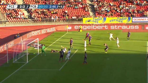 Video «Fussball: Super League, Tor von Armando Sadiku» abspielen