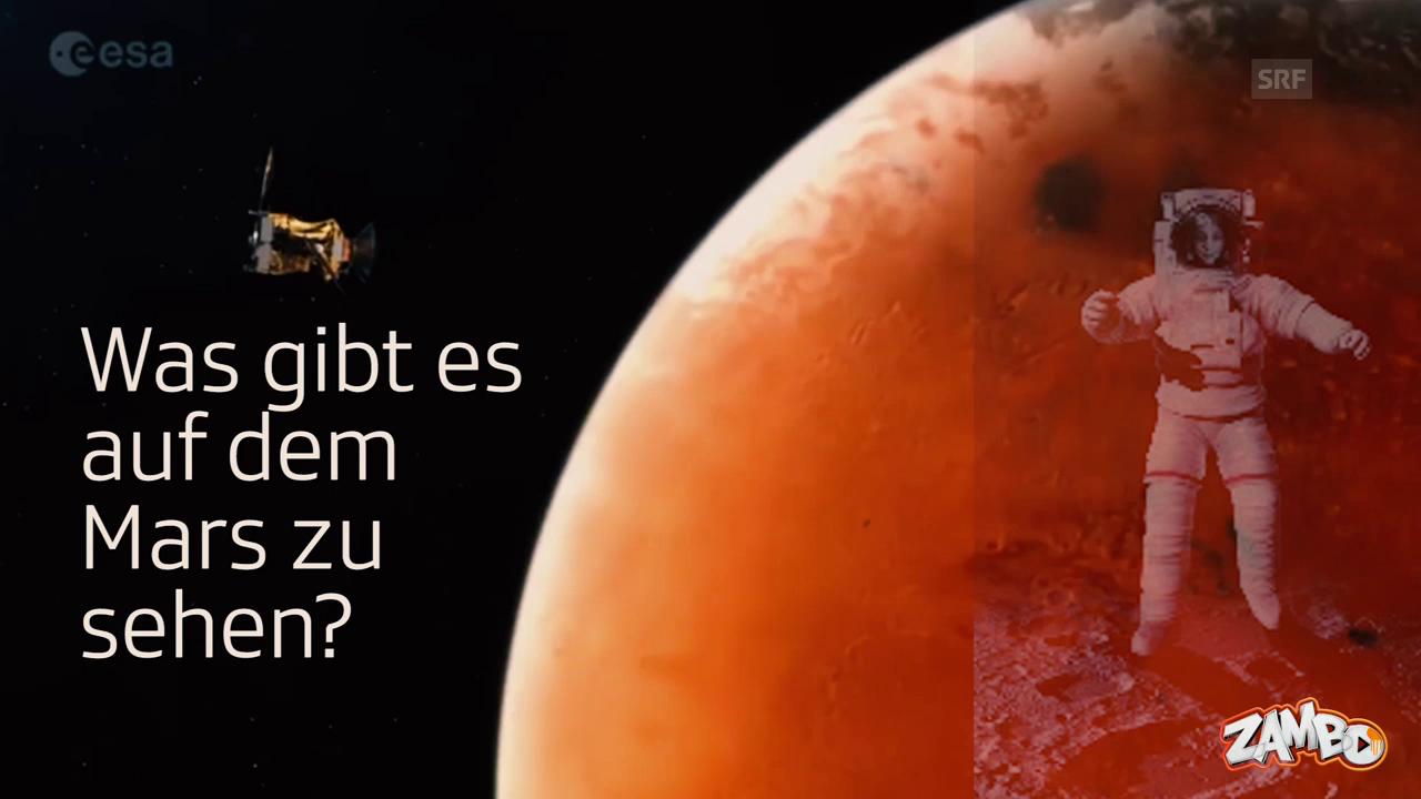 Touristenorte auf dem Mars