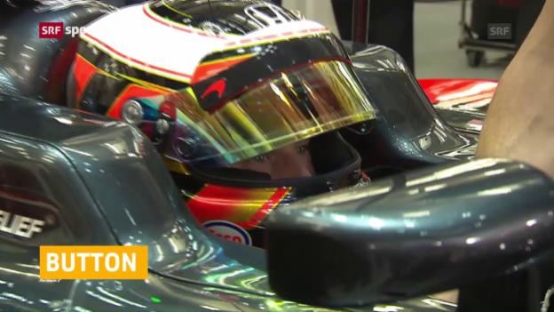 Video «Ein Belgier ersetzt Button bei McLaren» abspielen