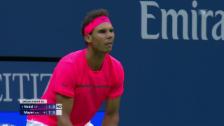 Video «Nadal im 14. Anlauf zum Break» abspielen