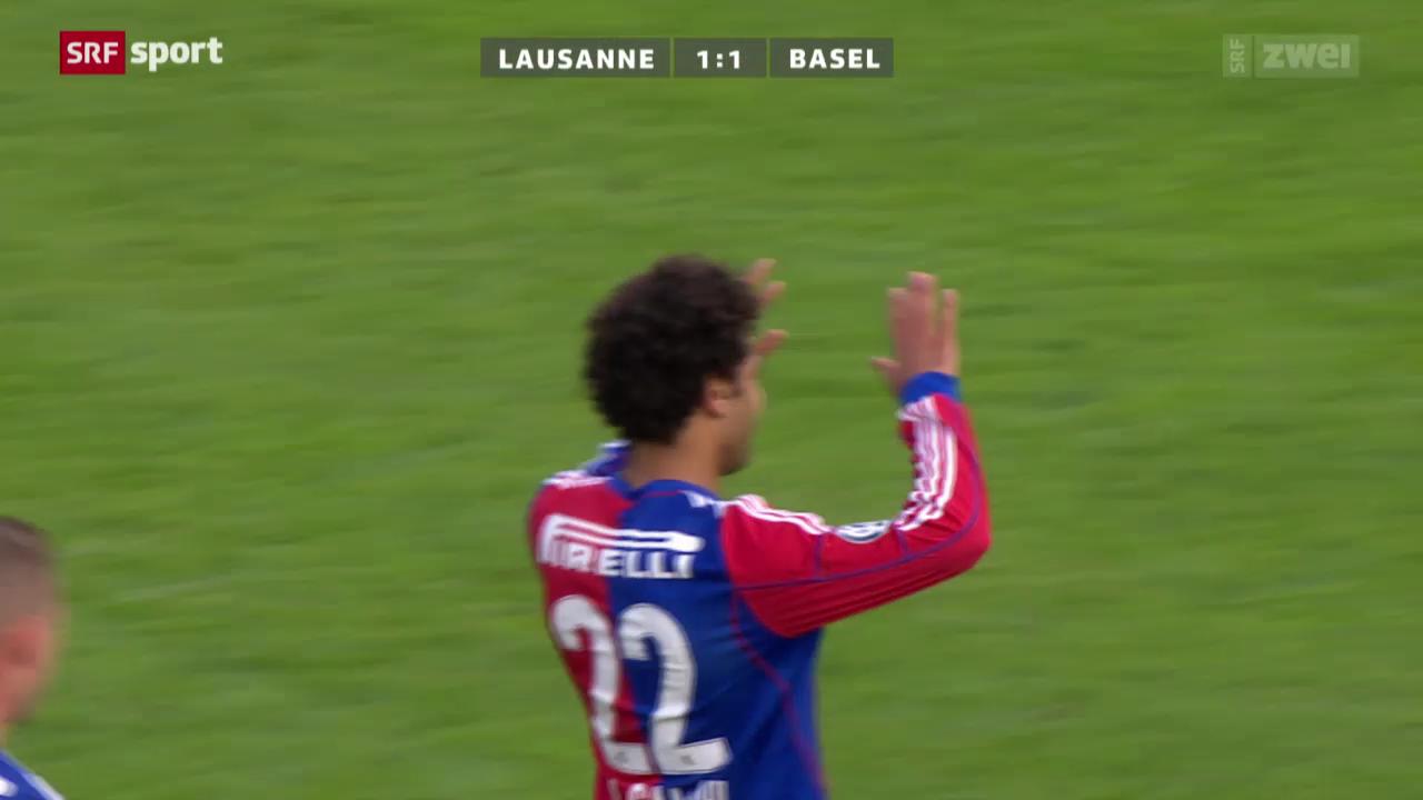 Fussball: Lausanne - Basel