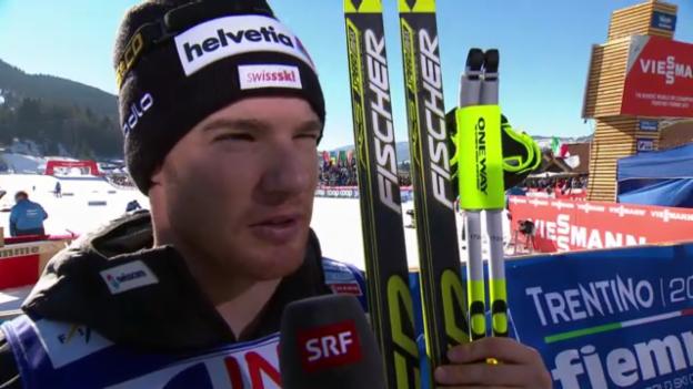 Video «Langlauf: Interview mit Dario Cologna («sportlive»)» abspielen