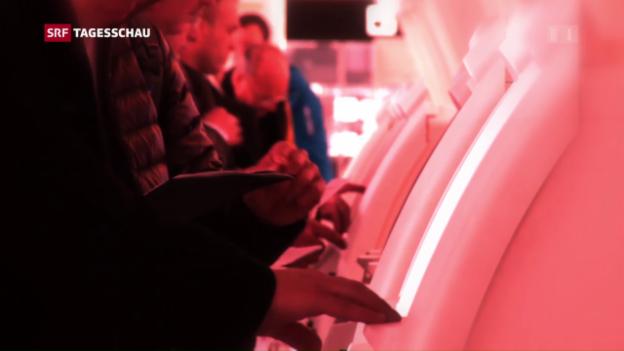 Video «Speicherung von Passagierdaten» abspielen