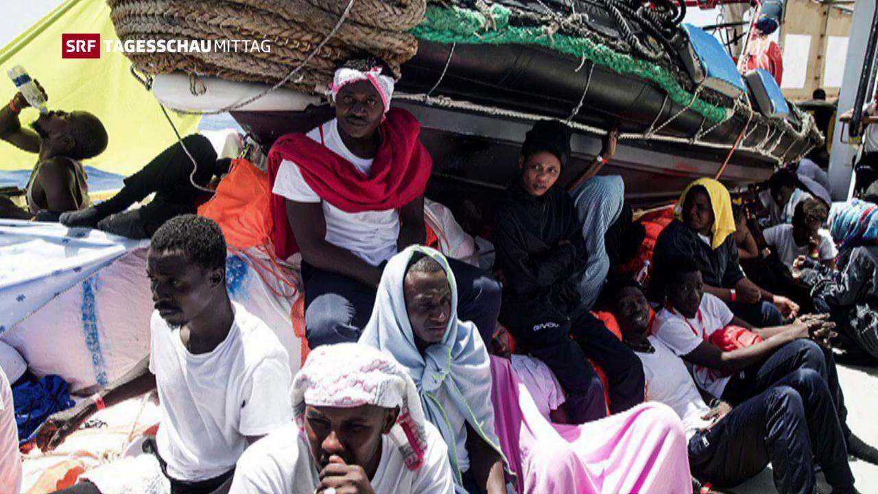 Italien verweigert Flüchtlingsschiff Landung