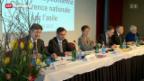 Video «Deutlicher schnellere Entscheide bei Asylverfahren vereinbart» abspielen