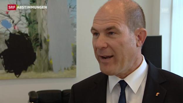 Video «Anton Lauber: «Es war ein intensiver Wahlkampf.»» abspielen