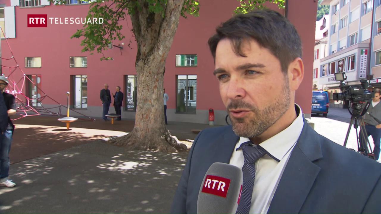 Elecziuns Cuira: Burgais cun Marco Tscholl en 2. scrutini