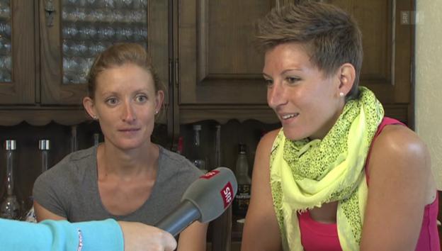 Video «Teil 2: Laura und Marie Polli, Gehen» abspielen