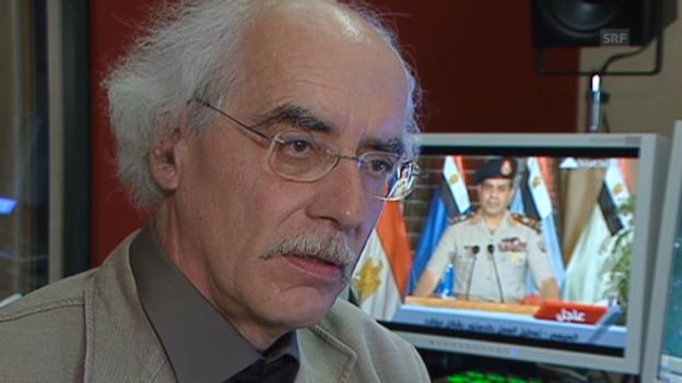 Video «Reinhard Schulze zu den Problemen Ägyptens» abspielen