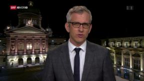 Video «FOKUS: Live-Schaltung zu Gion-Duri Vincenz in Bern» abspielen