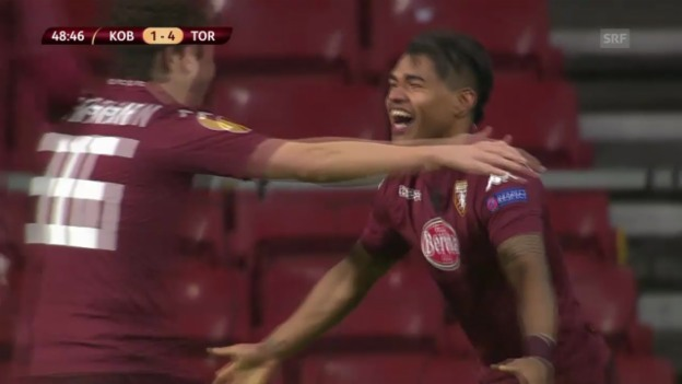 Video «Fussball: Europa League, Kopenhagen - Torino» abspielen