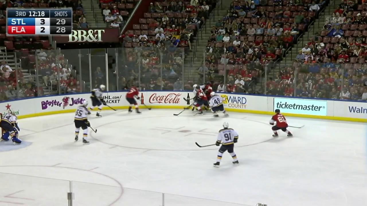 Malgin trifft gegen St. Louis