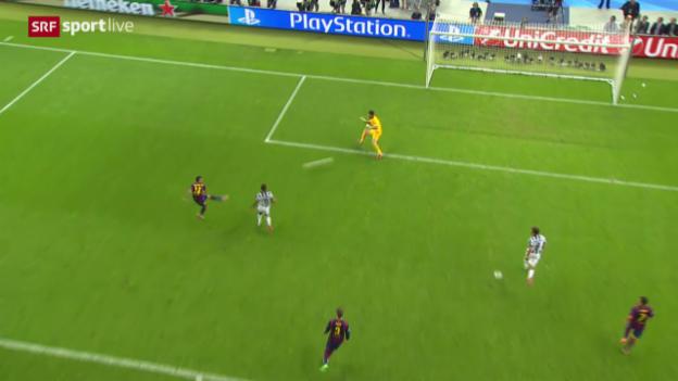 Video «Fussball: CL-Final, Neymar 3:1» abspielen