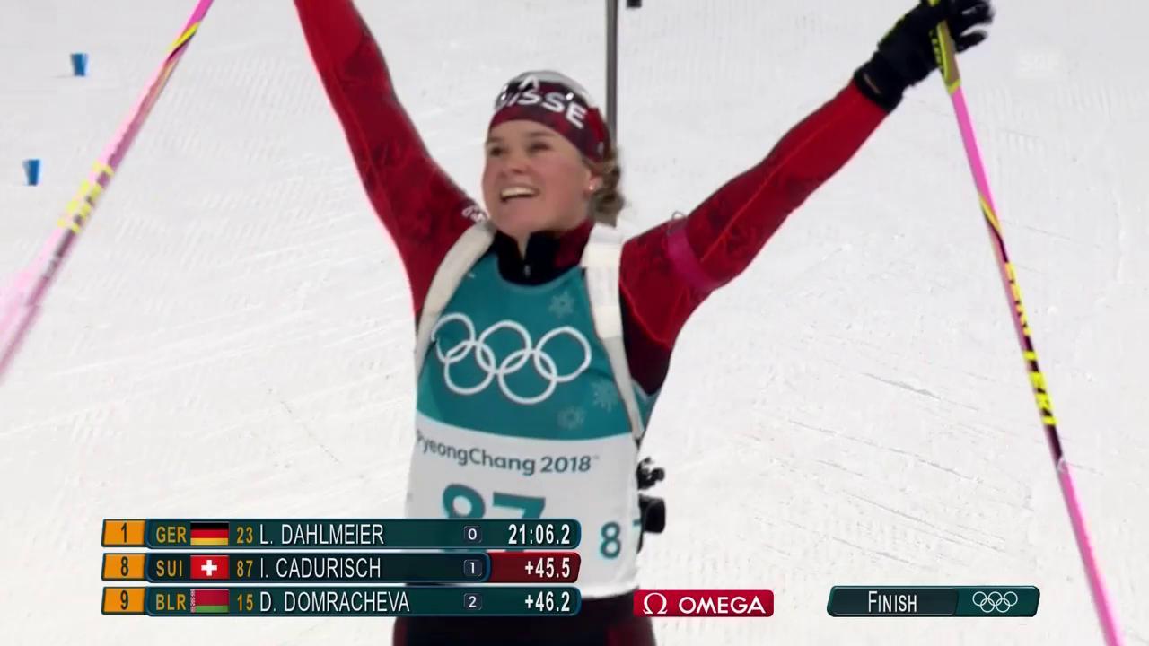 Cadurisch bei Dahlmeiers Sieg starke 8.