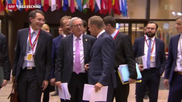 Video «Flüchtlingskrise: EU stellt Milliarden in Aussicht» abspielen