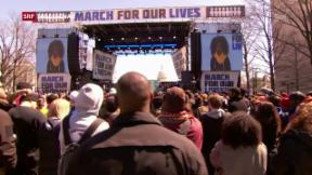 Video «Protest gegen Waffengewalt» abspielen