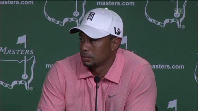 Golf: Tiger Woods zur neu gefundenen Balance (Englisch)
