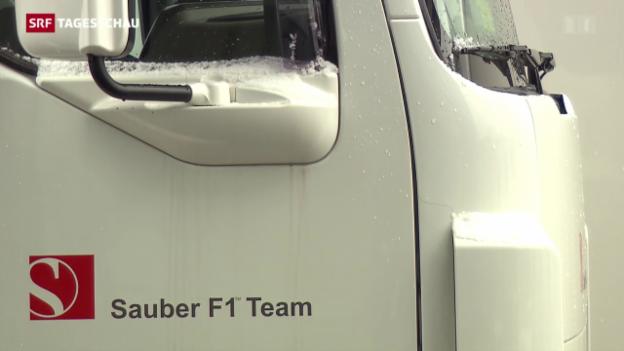 Video «Sauber-Rennstall mit Lohnzahlungen im Rückstand» abspielen