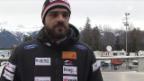 Video «Debütant Bracher: «Hätte Rang 12 vor dem Rennen genommen.»» abspielen