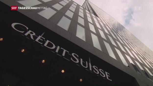 Video «Die Credit Suisse legt zwiespältige Quartalszahlen vor» abspielen