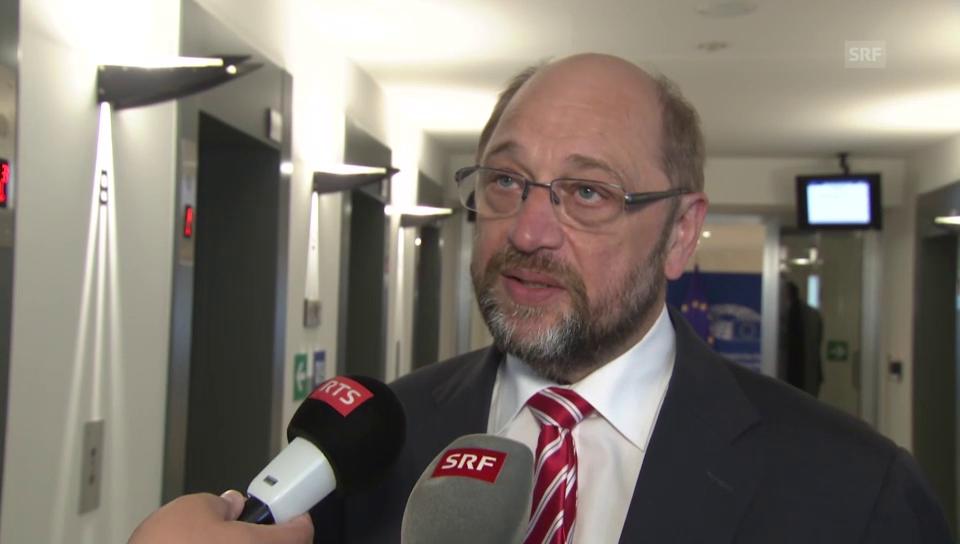 Martin Schulz: «Wir brauchen eine globale Lösung»