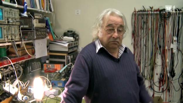 Video «Das Licht aus dem Chaos - Unterwegs mit Erfinder Jürg Nigg» abspielen