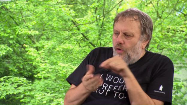 Video «Slavoj Zizek: Nieder mit der Ideologie!» abspielen