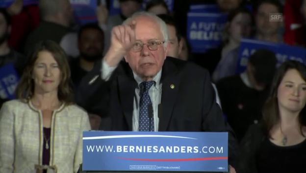 Video «Bernie Sanders attackiert die Reichen (unkomment./engl.)» abspielen