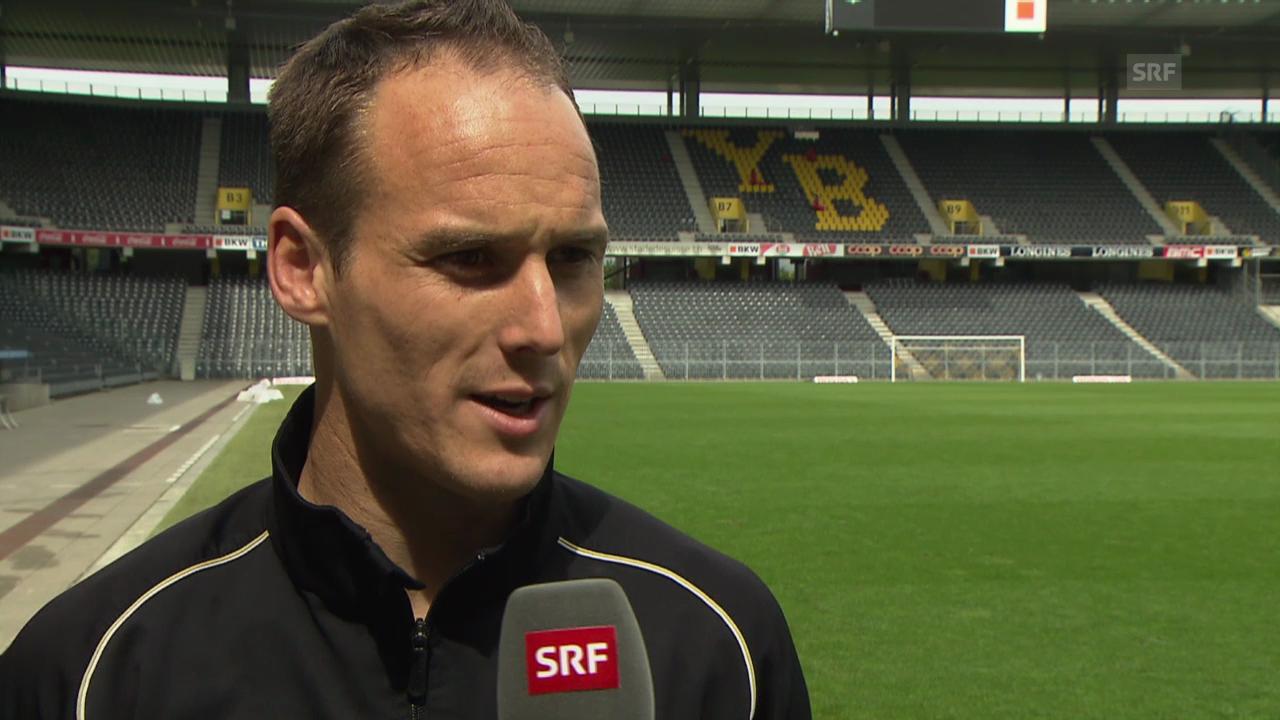 Fussball: Vor YB-FCB, Interview mit Steve von Bergen