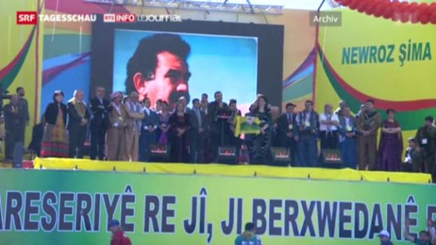 Video «Öcalan ruft zum Frieden auf» abspielen