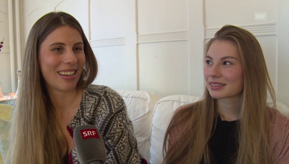 Christina Bucher sorgt dafür, dass ihre Tochter am Boden bleibt