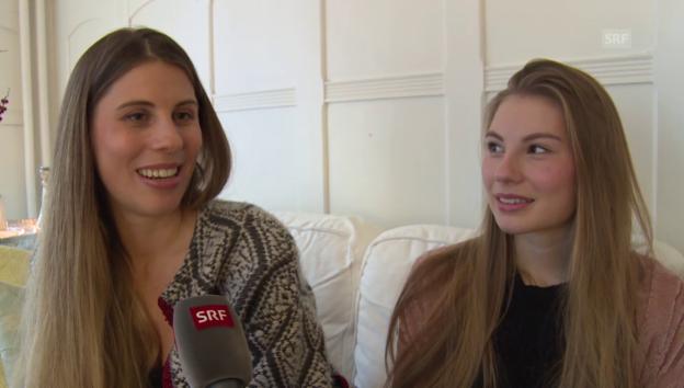 Video «Christina Bucher sorgt dafür, dass ihre Tochter am Boden bleibt» abspielen